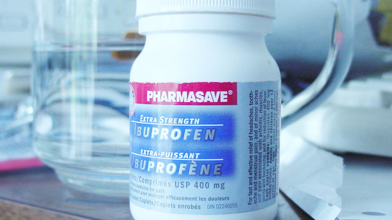 A bottle of Ibuprofen - Image Copyrights by: Shaylor  - Source: Flickr Creative Commons
